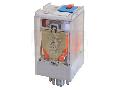 Releu industrial de putere RT08-240AC 230V AC / 2×CO (10A, 230V AC / 28V DC)