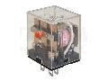 Releu miniaturizat de putere RL11-240AC 230V AC / 3×CO (10A, 230V AC / 28V DC)