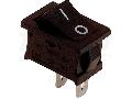 Intrerupator pentru aparate, P-O, negru TES-34 16(6)A, 250V AC