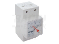 Voltmetru analogic modular de c.a., montaj pe sina ACVMS-25 25V AC