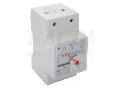 Voltmetru analogic modular de c.a., montaj pe sina ACVMS-100 100V AC