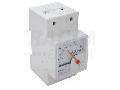 Ampermetru analogic modular de c.c., montaj pe sina DCAMS-20M 20mA DC