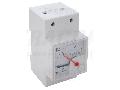 Frecventmetru analogic modular, montaj pe sina F45S-230/50 230V, 50Hz
