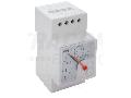 Cosfimetru analogic modular, montaj pe sina CF45S-0,5/1 230V/5A