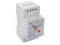 Cosfimetru analogic modular, montaj pe sina CF45S-0,5/3 400V/5A