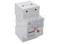 Wattmetru analogic modular, montaj pe sina W45S-230/1 230V/5A