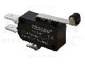 Microantrerupator cu tija-arc si rola KW3-51 1×CO 10(3)A/230V, 28mm, 6,3x0,8 mm, IP00