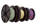 Cablu telefon YV 2x0,5/0,9 rosu/negru