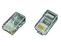 Conector tata RJ45 UTP 8P8C pentru cablu plat