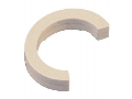 Piesa distantoare 2,5mm intre reglete pe bara rotunda