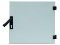 Usa metalica pt dulap DW 18U, 600mm, RAL7035, fara broasca