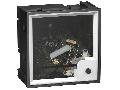 Ampermetru Analogic Amp - 3 In Fara Cadran - 72X72 Mm