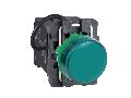 Lampa pilot monolit verde obiectiv plan 22 cu LED 440 - 460V