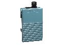 Comutator Picior Simplu - Ip66 -Fara Capac -Metalic -Albastru - 2 Nc + 2 No