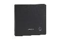 Clapeta Cu Fereastra Indicator Si Cu Simbol Clopot, Antracit, Sistem M