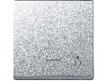 Clapeta Cu Fereastra Indicator Si Cu Simbol Bec, Aluminiu, Sistem M