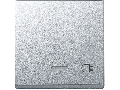 Clapeta Cu Fereastra Indicator Si Cu Simbol Iesire Priza, Aluminiu, Sistem M
