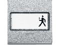 Clapeta Cu Camp De Etichetare Si Fereastra Indicator, Aluminiu, Sistem M