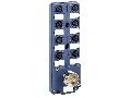 Caseta Deriv. Pasiva Ip67 - Conector M23 - Cu Conector M12 Cu 8 Canale - Led