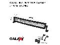 Proiector bara LED GALAXY LBL CURVED 120W 12/24V 6000K