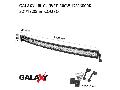 Proiector bara LED GALAXY LBL CURVED 300W 12/24V 6000K