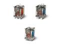 Releu de putere - 1 ND + 1 NI, 20 A, 1 ND + 1 NI, 12 V, Standard, C.A. (50/60Hz), AgCdO, Faston 250 (6.3x0.8 mm) ?i carcasa cu flan?a de montare inspate, Niciuna