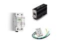 Descarcator (SPD) - Prin contact de semnalizare la distanta a starii de avarie, C.A. (50/60Hz), Descarcator combinat tipul 1 + 2, Trifazat (3 varistoare + 1 eclator incapsulat), 25 kA (I imp tipul 1+2), 260 V Max (Uc) pentru SPD tipul 1+ 2 (pentru UN