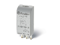 Module pentru socluri din seriile 90/92/94/95/96/97 - Modul RC (rezistența-condensator), 6...24 V C.A./C.C., Modul de indicare și protecție