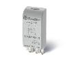 Module pentru socluri din seriile 90/92/94/95/96/97 - Modul RC (rezistența-condensator), 110...230 V C.A./C.C., Modul de indicare și protecție