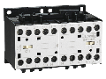Ansamblu contactori pentru inversare de sens, AC bobina, interblocaj mecanic interior  , 12A AC3 IN AC, 5.7KW. bobina tensiune 24VAC 50/60HZ