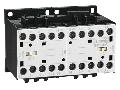 Ansamblu contactori pentru inversare de sens, AC bobina, interblocaj mecanic interior  , 12A AC3 IN AC, 5.7KW. bobina tensiune 230VAC 50/60HZ