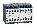Ansamblu contactori pentru inversare de sens, AC bobina, BUILT-IN INTERLOCK ONLY WITH REAR PCB SOLDER PINS, 9A AC3 IN AC, 4KW. bobina tensiune 24VAC 50/60HZ