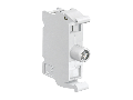 Led semnalizare, STEADY OR FLASHING LIGHT, Ø22MM 8LM METAL SERIES, STEADY LIGHT, 85…140VAC. WHITE