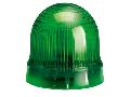 BLINKING OR STEADY LIGHT MODULE. Ø62MM. BA15D FITTING, GREEN, 12…48VAC/DC