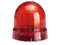 BLINKING OR STEADY LIGHT MODULE. Ø62MM. BA15D FITTING, RED, 24…230VAC