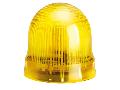 BLINKING OR STEADY LIGHT MODULE. Ø62MM. BA15D FITTING, YELLOW, 24…230VAC