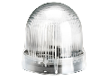 BLINKING OR STEADY LIGHT MODULE. Ø62MM. BA15D FITTING, WHITE, 24…230VAC