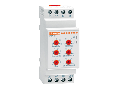 CURRENT MONITORING RELAY FOR SINGLE-PHASE SYSTEM, AC/DC MAXIMUM CURRENT CONTROL, 5A OR 16A