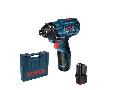 Masina de insurubat cu impact cu acumulatori Bosch GDR 120-Li, 2 acum. 1,5Ah, valiza