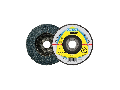 Disc de slefuire evantai frontal KLINGSPOR SMT 624 SUPRA 125mm, G60
