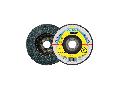 Disc de slefuire evantai frontal KLINGSPOR SMT 624 SUPRA 125mm, G80