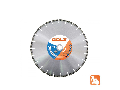 Disc diamantat pentru beton Premium 350 mm GOLZ CT 40-351