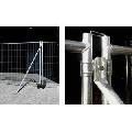 Contravantuire pentru panouri mobile cu prindere in beton 200cm