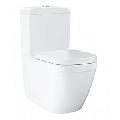 Vas wc Euro Ceramic Btw pentru rezervor incastrat, Triple Vortex, 54X37.4