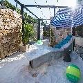 Sezlong marmura Calacatta