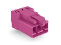 Plug for PCBs; angled; 3-pole; Cod. B