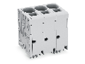 PCB terminal block; 16 mm; Pin spacing 10 mm; 12-pole; Push-in CAGE CLAMP; 16,00 mm; gray