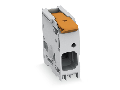 PCB terminal block; lever; 16 mm�; Pin spacing 10 mm; 1-pole; Push-in CAGE CLAMP�; 16,00 mm�; red
