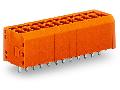 PCB terminal block; 1.5 mm�; Pin spacing 3.81 mm; 7-pole; CAGE CLAMP�; 1,50 mm�; orange