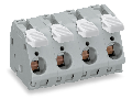 PCB terminal block; lever; 16 mm�; Pin spacing 15 mm; 5-pole; CAGE CLAMP�; 16,00 mm�; gray